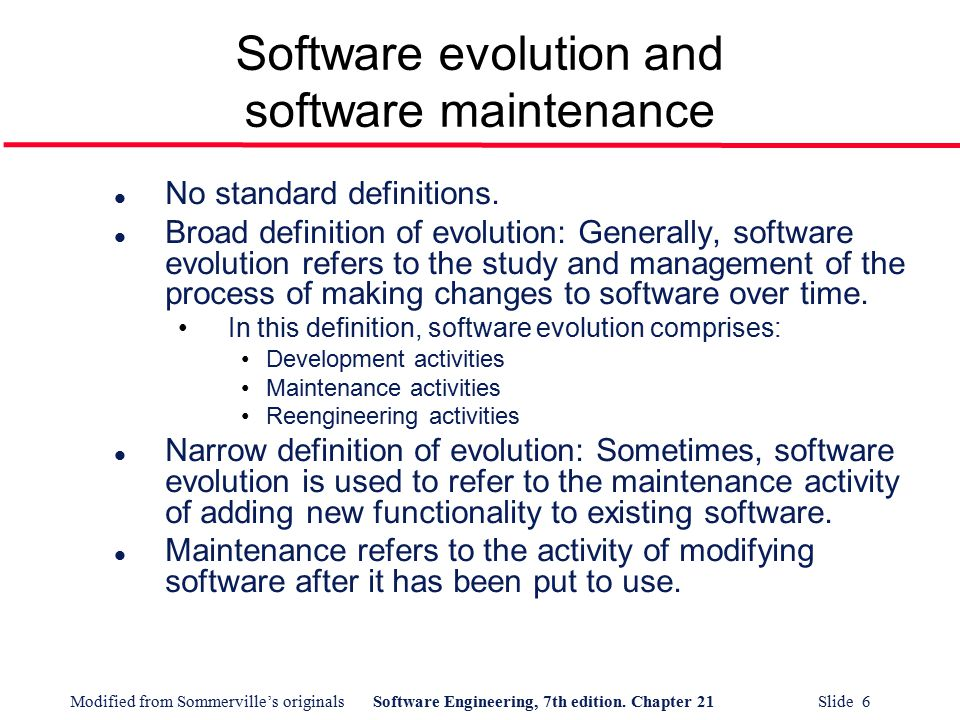 software evolution process Most software evolution analysis tools are not a part of the day-to-day  programming  versions from a repository and to process them all at once this  shows that.