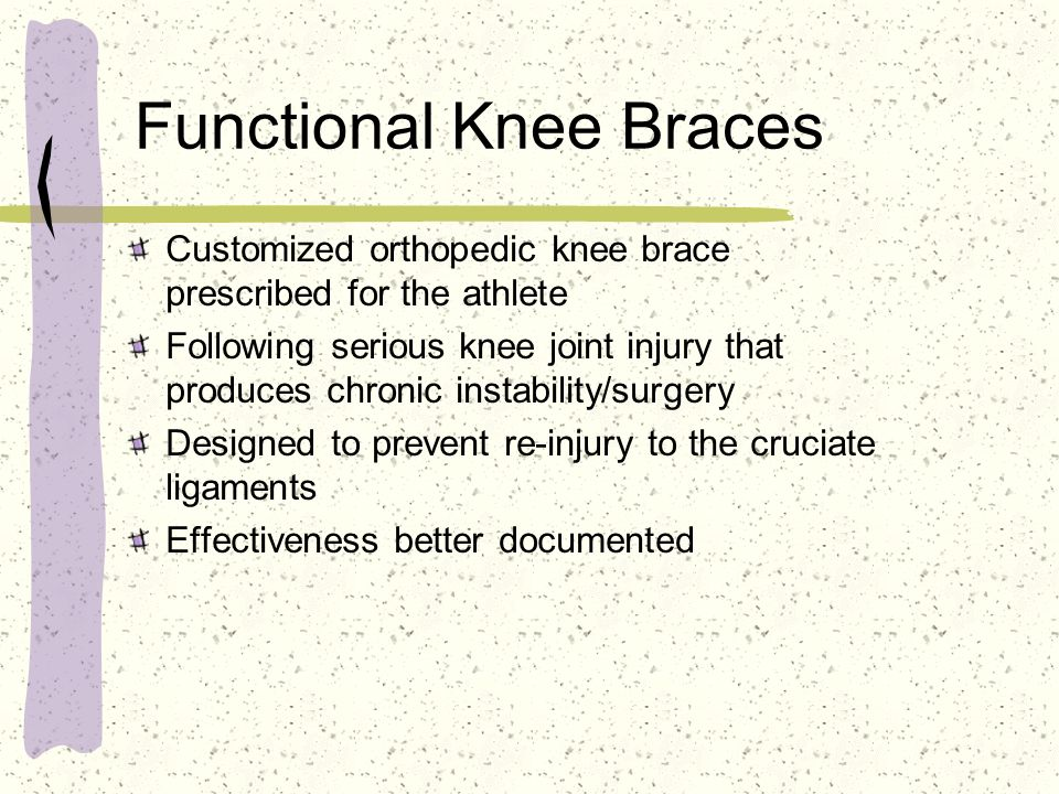 Functional Knee Braces