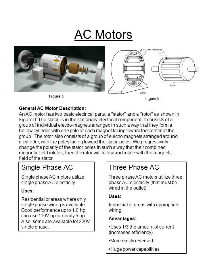 Motor selection guide a kaizen project by ppt video for Can you convert a 3 phase motor to single phase