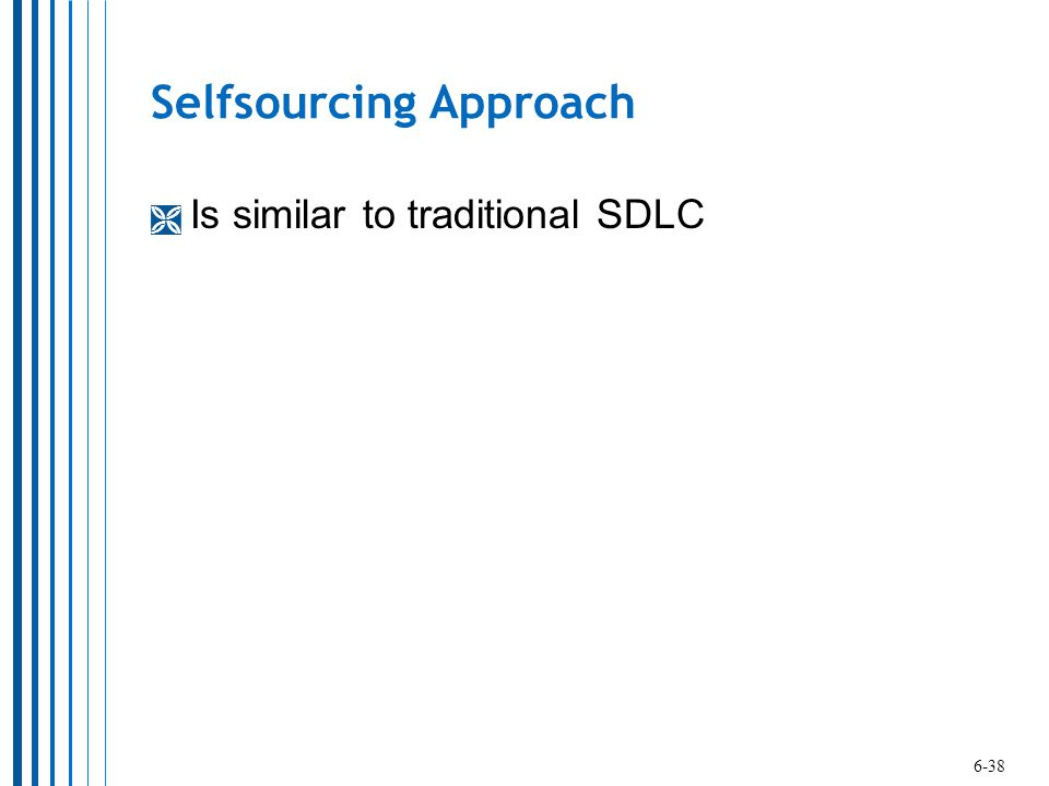 Selfsourcing Approach