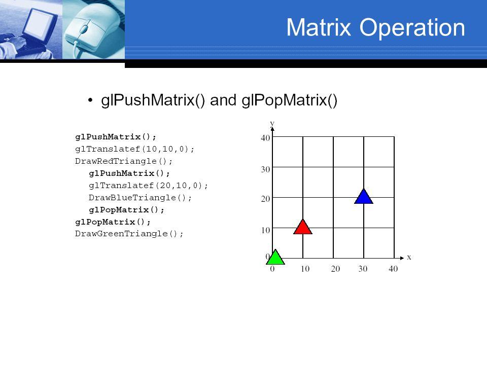 Matrix Operation