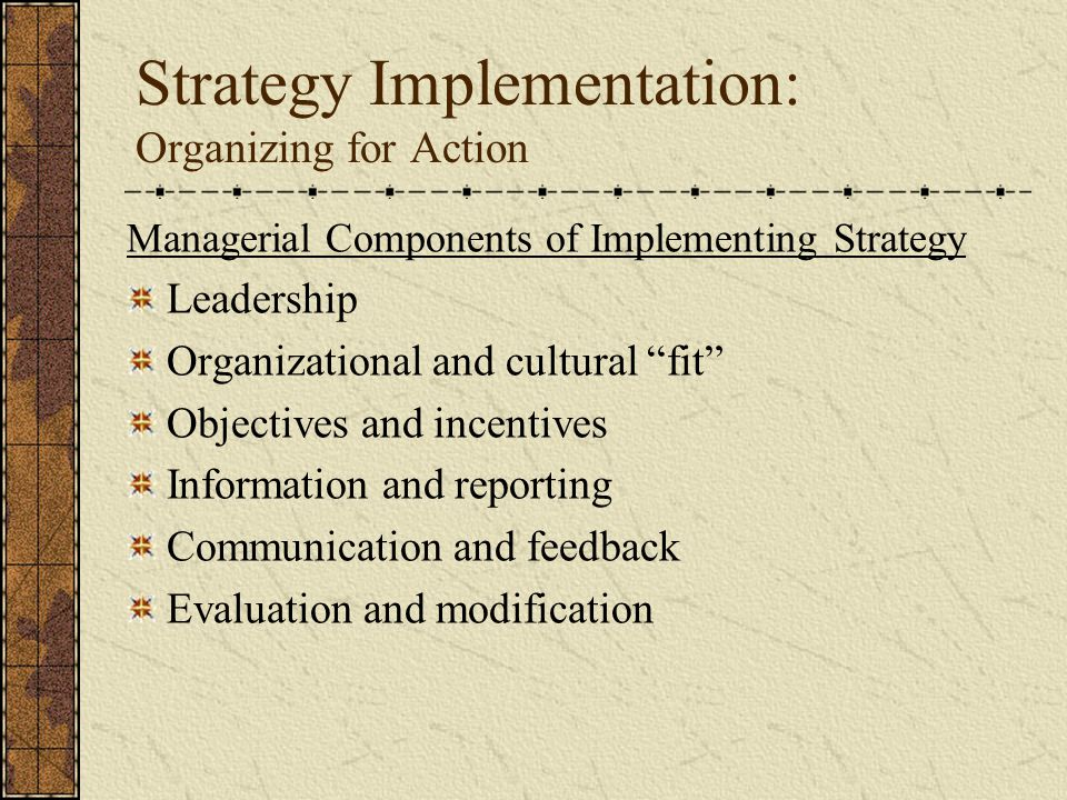 organisational culture and strategy implementation pdf