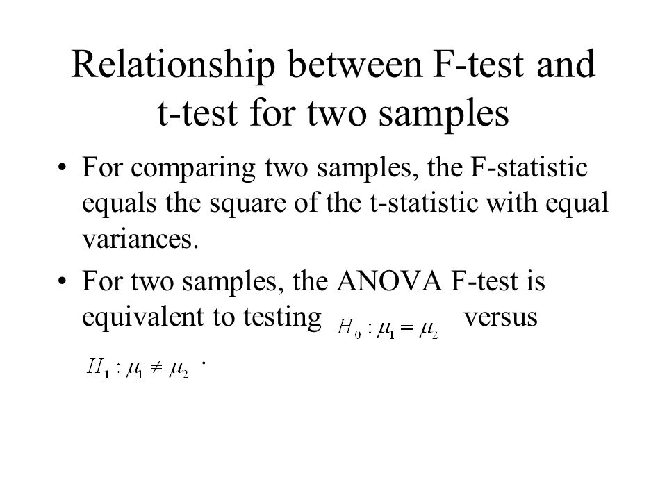 relationship between test and squared puckett