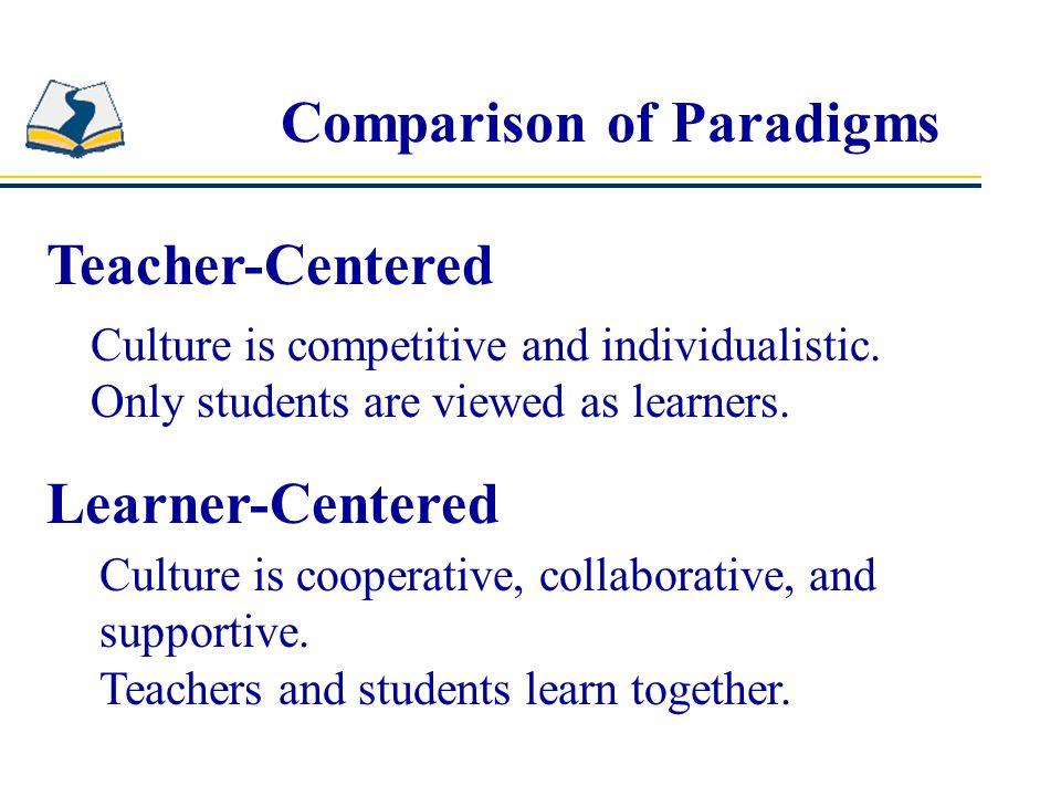 Comparison of Paradigms