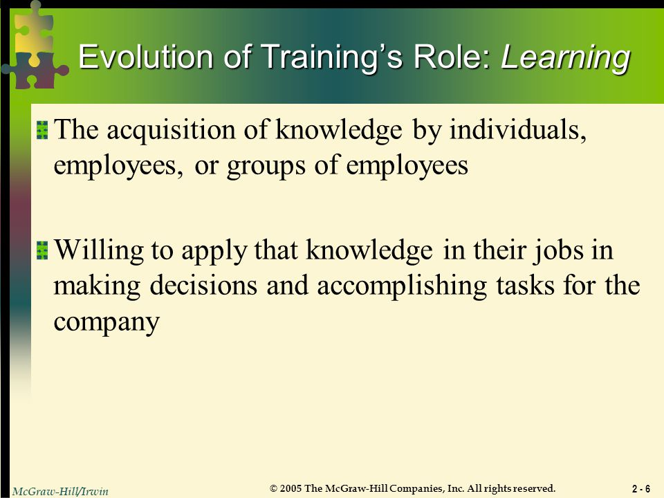 understand roles and responsibilities in the