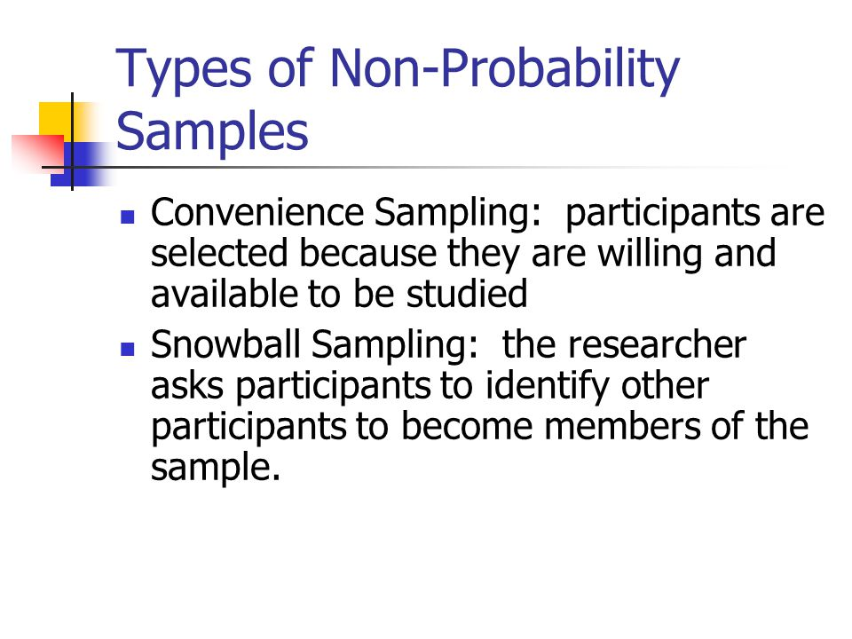 types of non probability sampling pdf