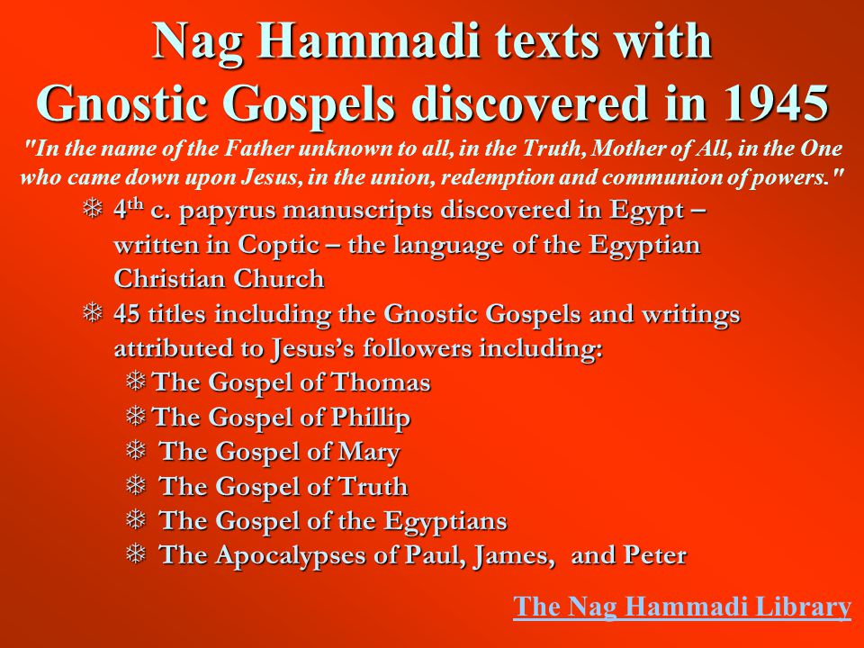 an analysis of gnostic writings of jesus The gnostic bible/edited by willis barnstone and marvin meyer—1st ed p cm   who initiated jesus of nazareth and preached apocalyptic ideas in the vicinity   the other meaning of'gnostic' is narrow and more strictly historical: it is the.
