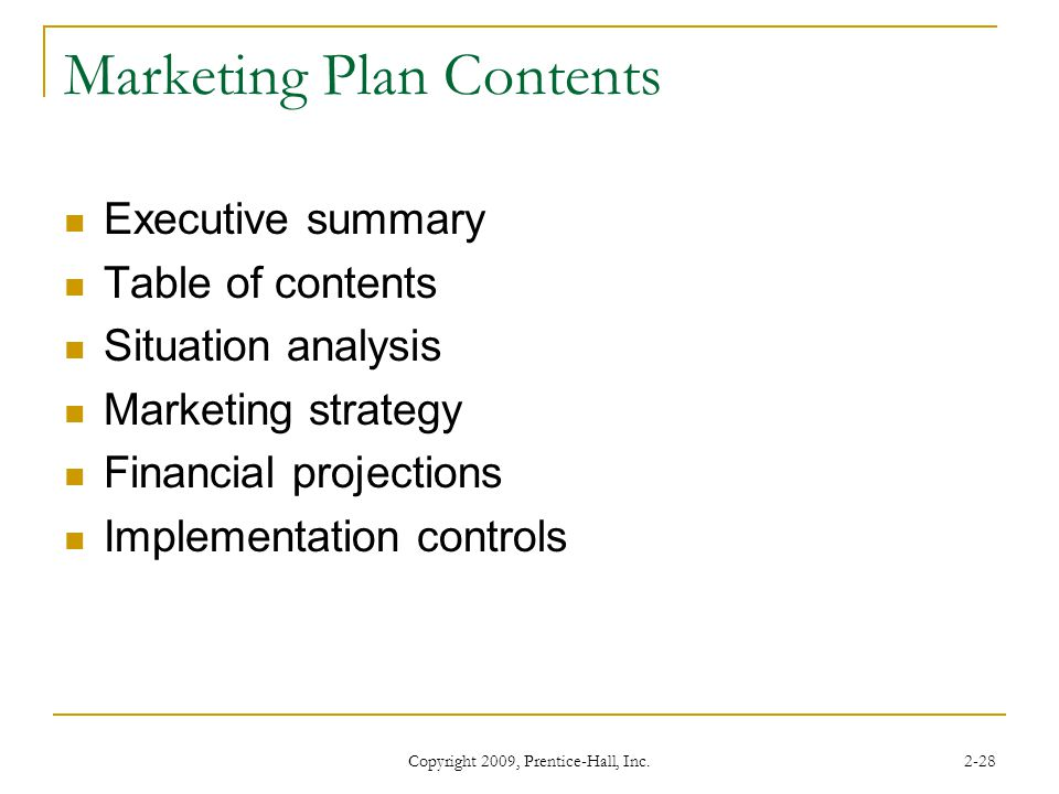 contents of a marketing plan Use the content marketing strategy worksheet and template to jumpstart your content marketing and build your brand and business.
