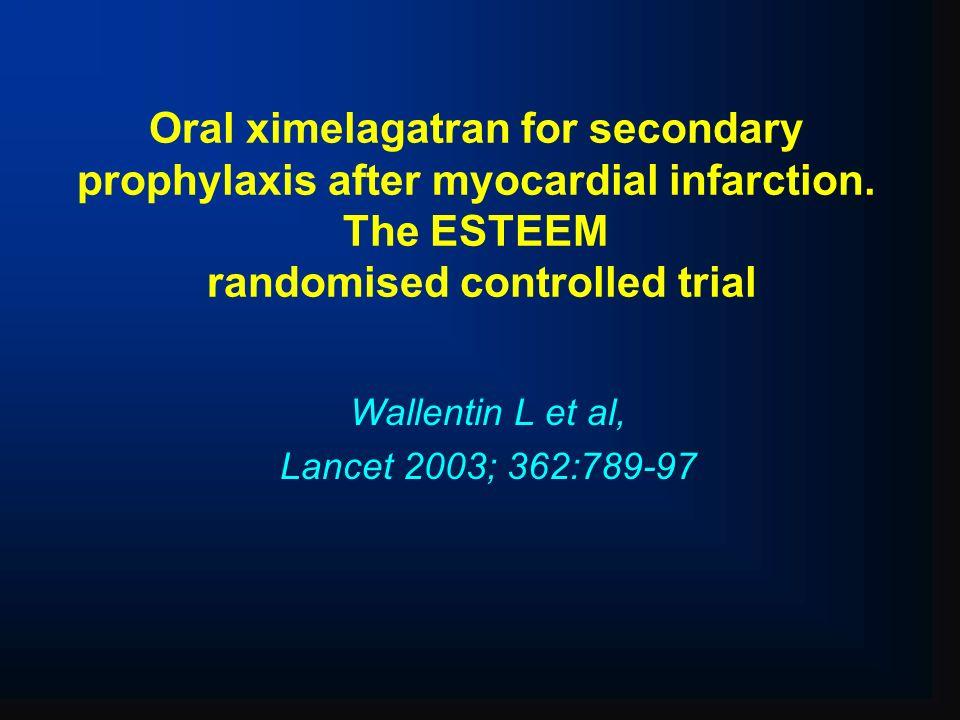 Wallentin L et al, Lancet 2003; 362:789-97