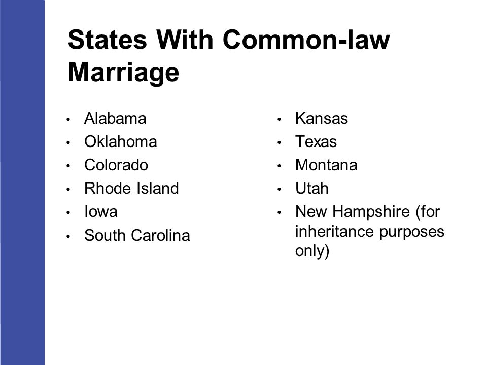Texas Common Law Marriage Property Rights
