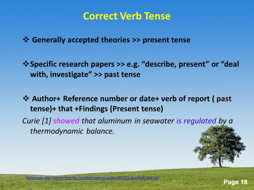 Shifty Tenses