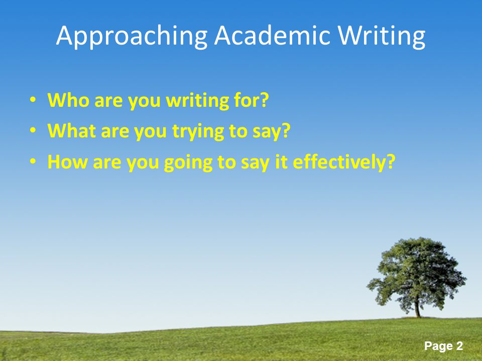 academic writing different other types writing