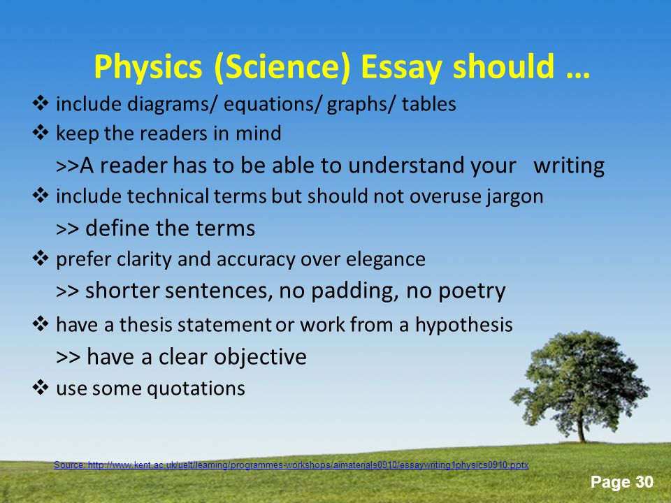 physics essay question Hi i'm currently in yr 12 in my first year of the ib diploma studying higher physics i have chosen to complete my 4000 wrd essay in this subject, but i cant think of a suitable research question.