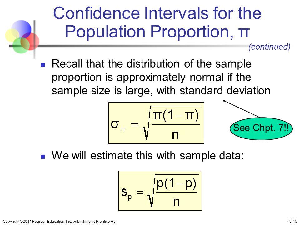 Chapter 8 Estimating Single Population Parameters - ppt download