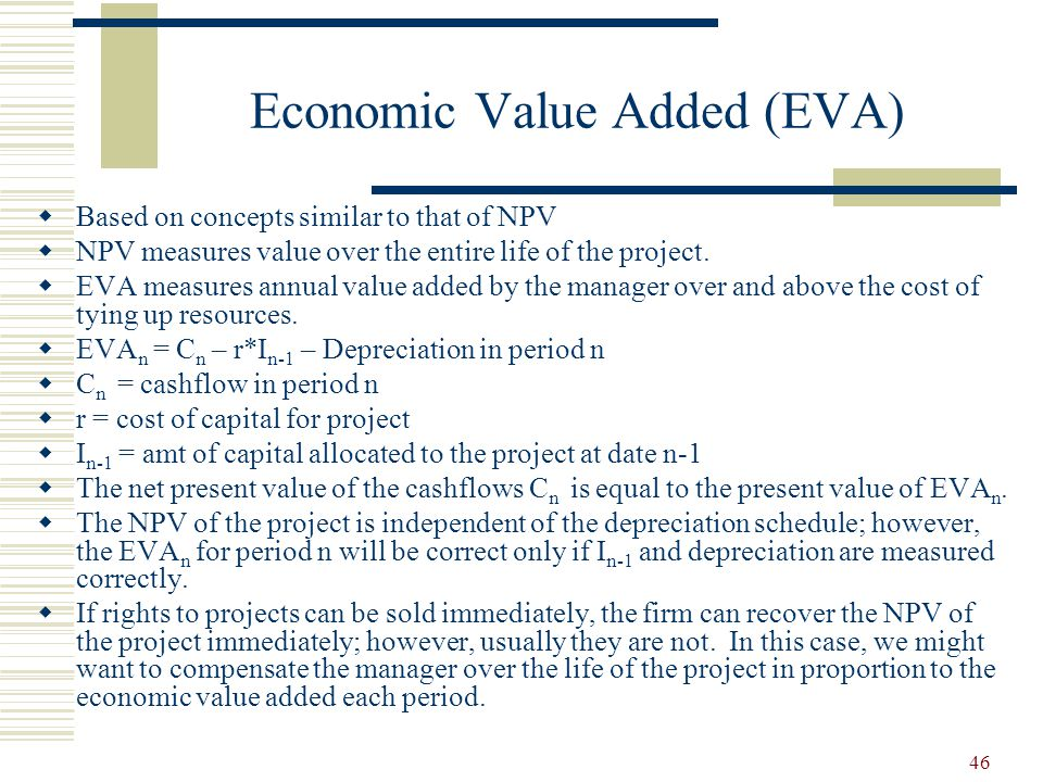 enterprise value added eva International journal of business and management march, 2009 169 performance measures: an application of economic value added nikhil chandra shil, acma.