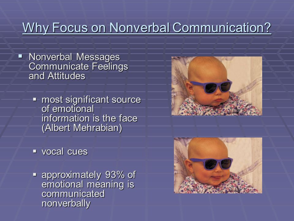 albert mehrabian nonverbal communication pdf
