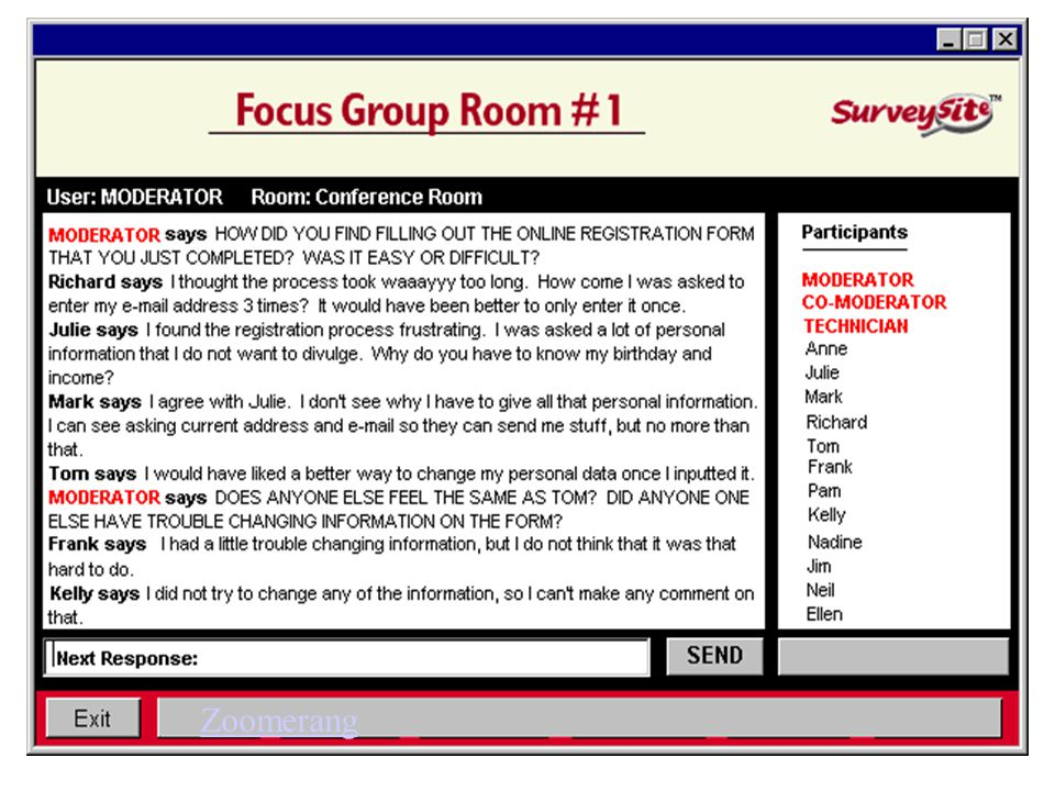 Chat Room Advantages And Disadvantages