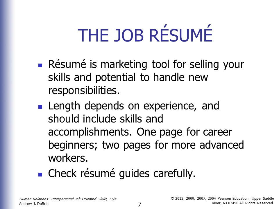 Job Search And Career Management Skills - Ppt Download