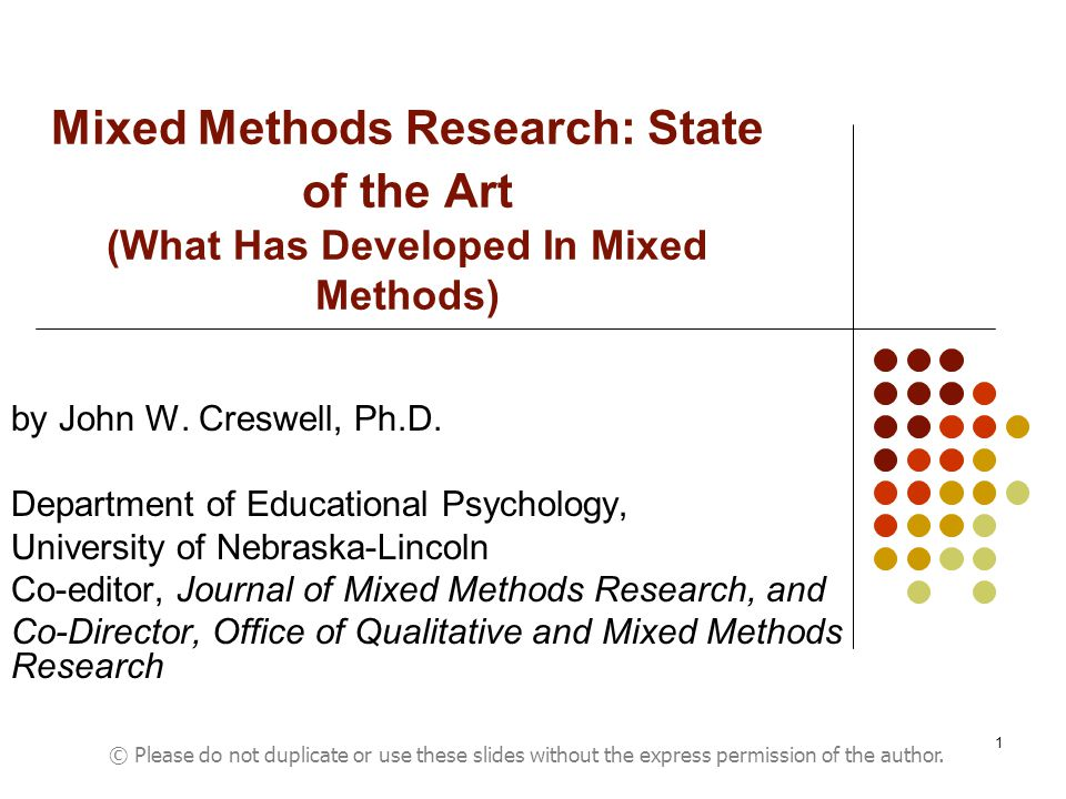 """mixed method research dissertation The field of mixed methods has only been widely accepted for the last decade, though researchers have long been using multiple methods, just not calling them """"mixed"""" mixed methods research takes advantage of using multiple ways to explore a research problem."""