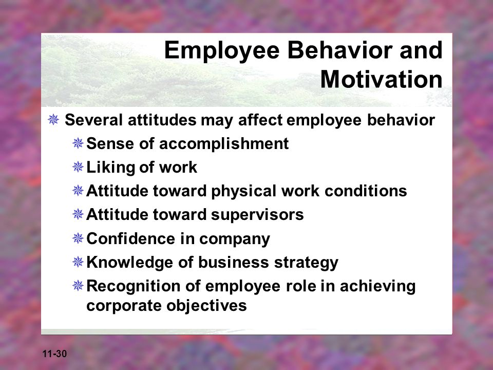 What are the main employee motivation strategies?