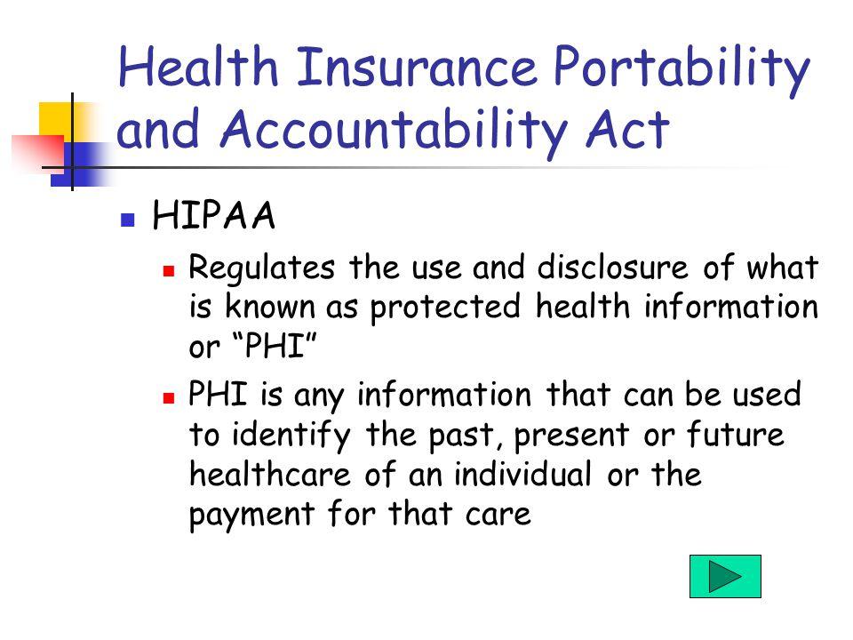health insurance portability and accountability act pdf