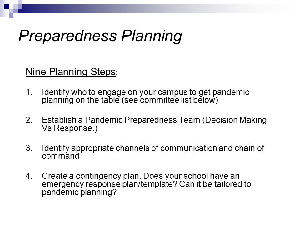 pandemic preparedness plan template pandemic flu preparedness ppt download