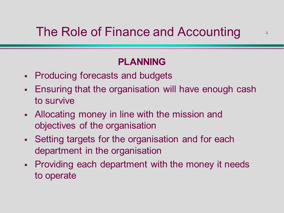 the role of financial accounting Week 1 – the role of financial accounting vs managerial accounting maria del  pilar ralat acc400 june 9, 2016 carmen garcía pomares.