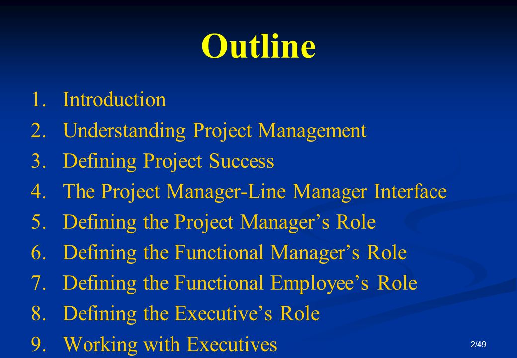 project management defining success Projects are about deivering a beneficial change - this video explains that and how to ensure governance is effective.