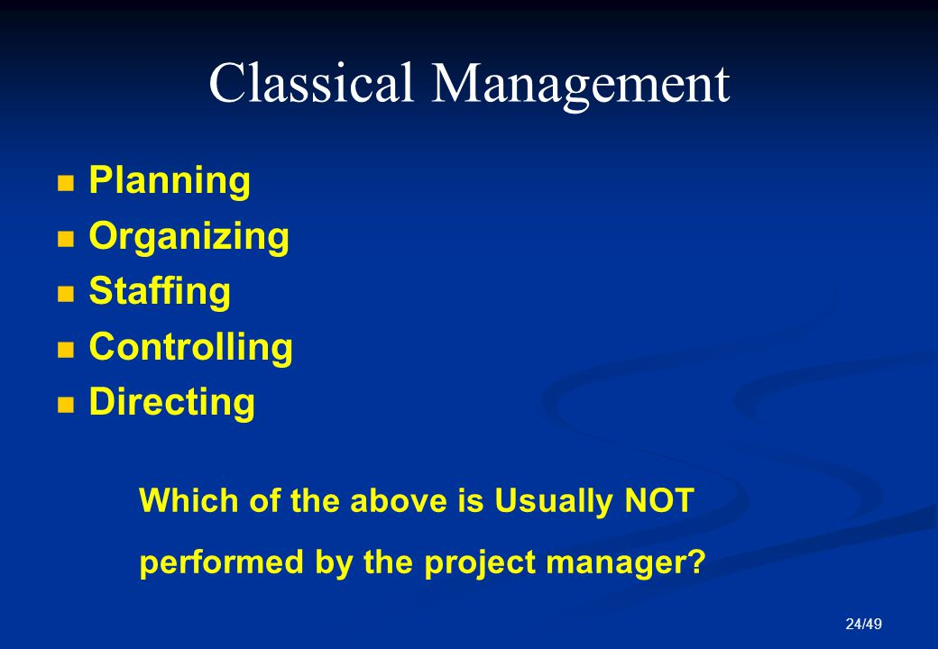 organization planning project management and information Organizational project management capacity assessment tool  project plan  template: the project plan provides detailed information on the.