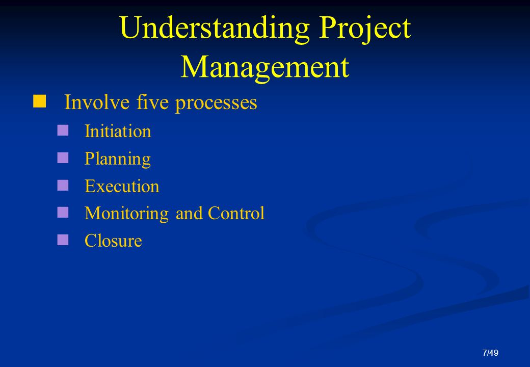 understanding project management Many professionals are known to make a mistake of considering a project management plan as a gantt chart or a schedule.