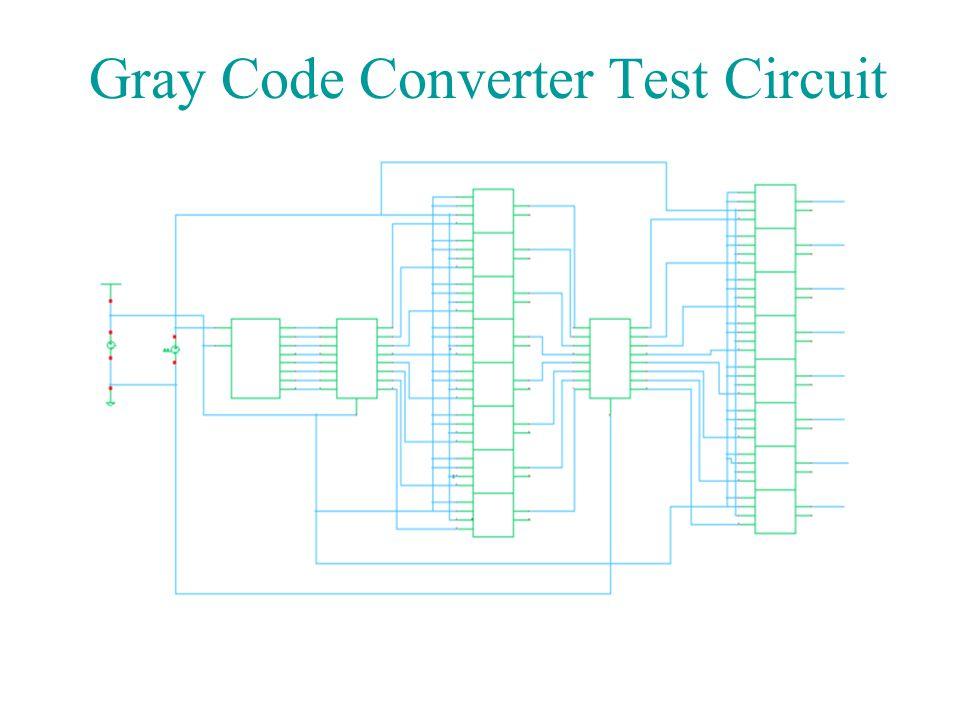 Binary code converter circuit