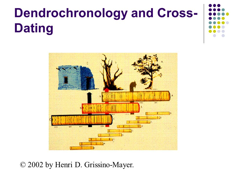 cross dating methods in dendrochronology As archaeological dating techniques go, dendrochronology is extremely the ring widths were matched and cross-dated, and by the 1920s,.