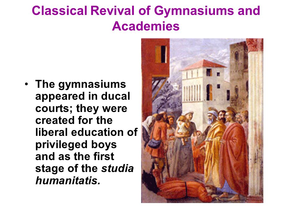 educational status during the renaissance period During the period from about 1300 to 1500 ad, much of europe was in the renaissance period which predicated a cultural explosion of art, literature, architecture, and politics that hadn't been seen on the continent since the romans themselves built the great city of rome in ancient times the people of europe looked to the classics in admiration of.