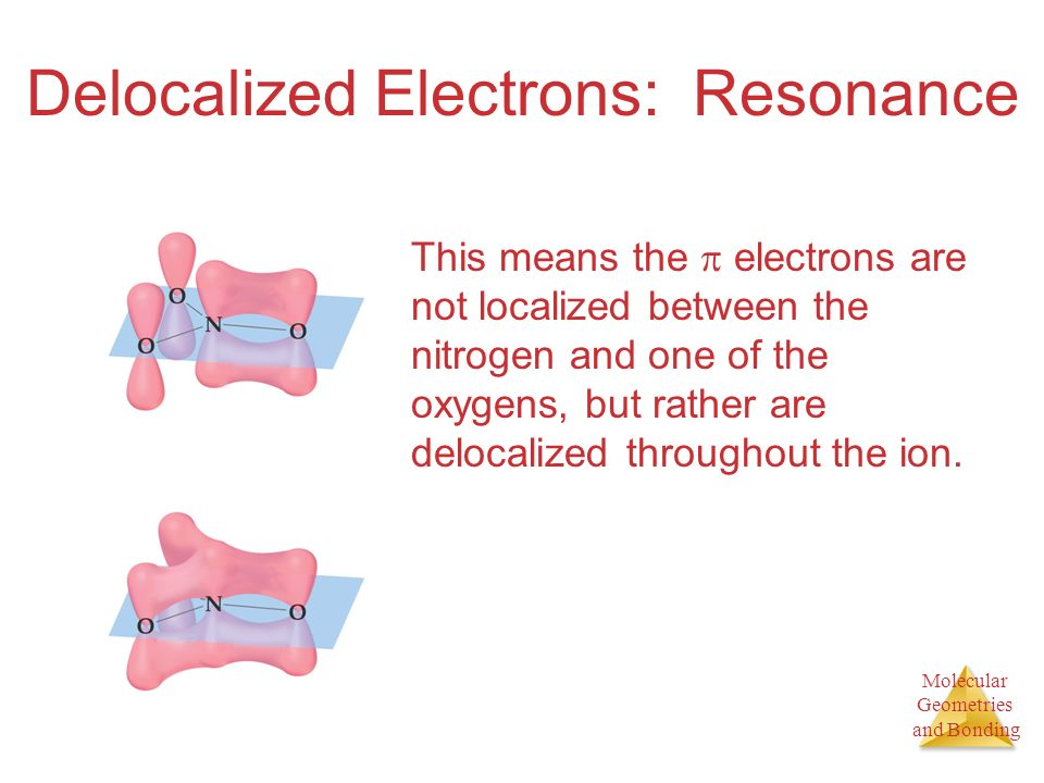 Delocalized Electrons: Resonance