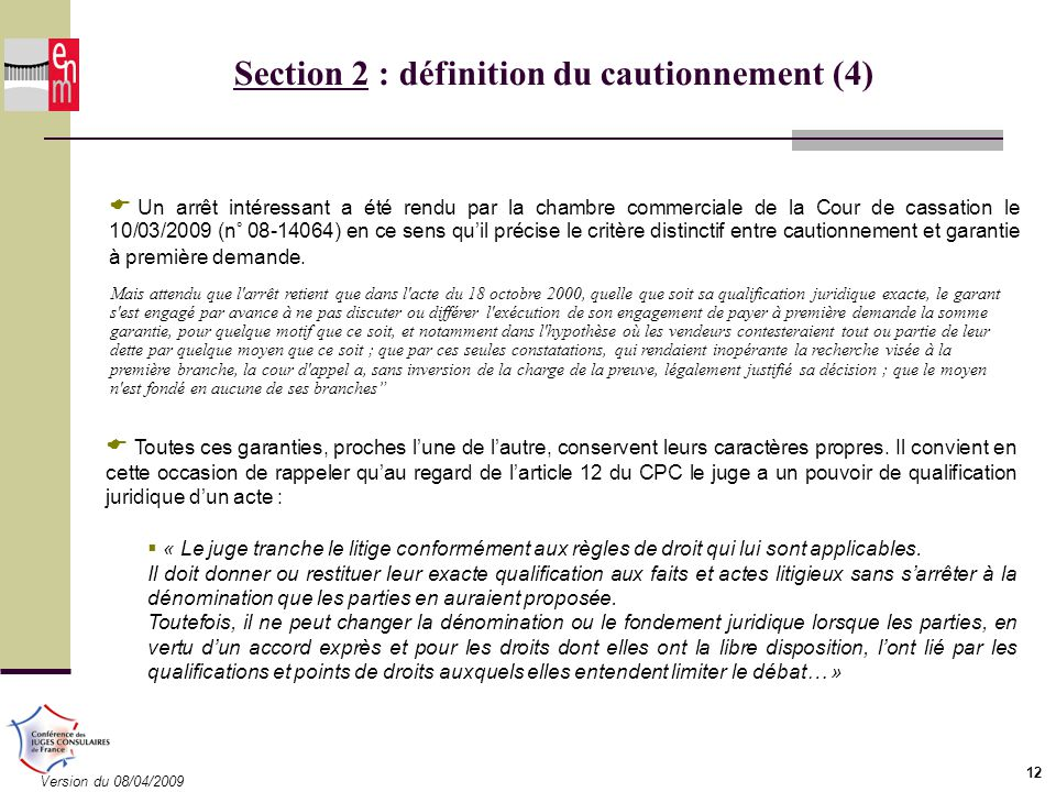 Formation des juges consulaires module 5 ppt download for Chambre commerciale 13 octobre 1992
