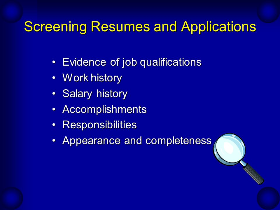 staffing the sales recruitment and selection ppt