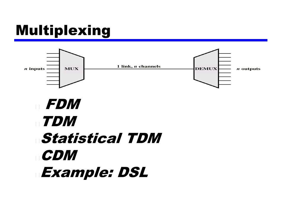 computer networks set 7 multiplexing