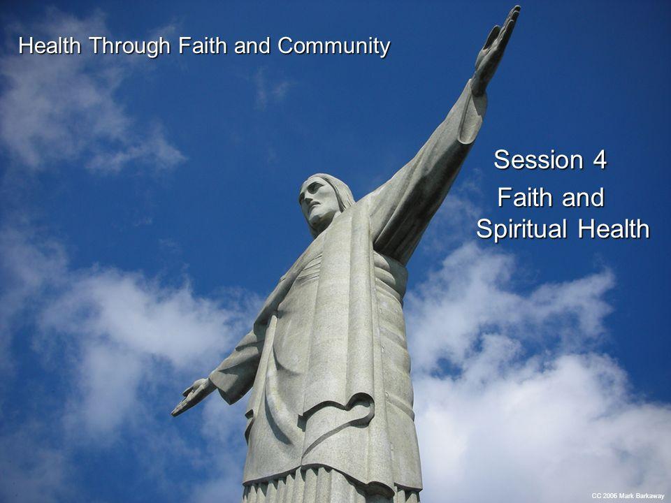 Faith and Spiritual Health