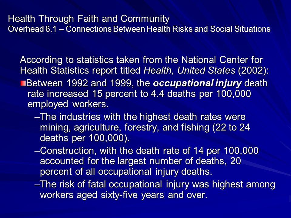 Health Through Faith and Community Overhead 6