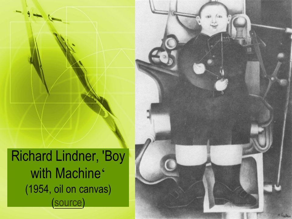 richard lindner boy with machine