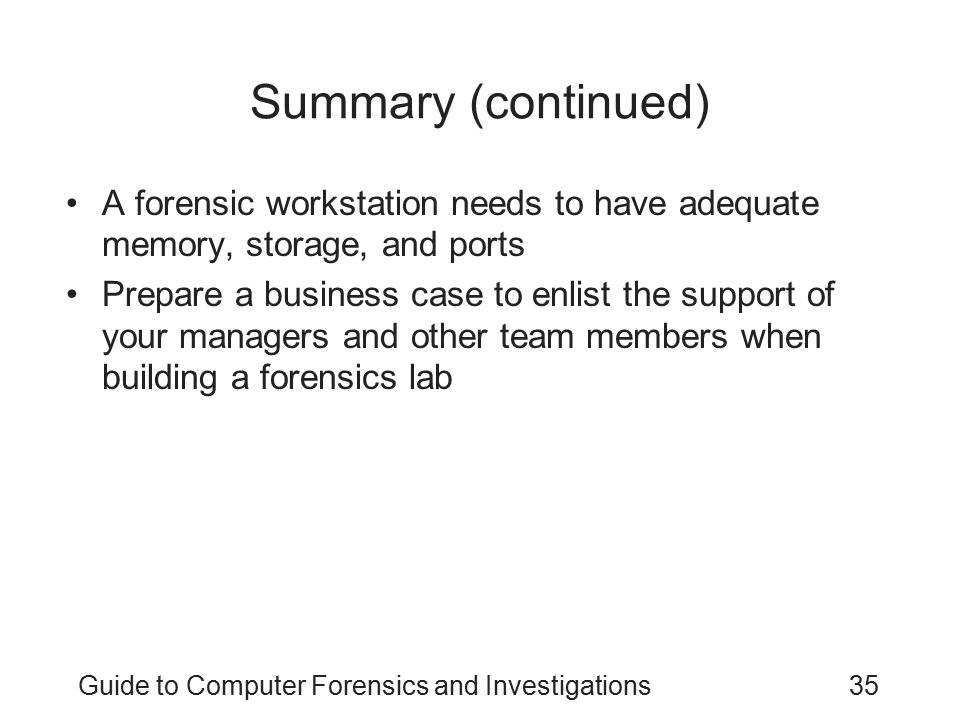 computer forensics thesis statement Computer forensics is the collection, preservation, analysis, and presentation of computer-related evidence computer evidence can be valuable in criminal cases, civil disputes, and human resources/employment proceedings.