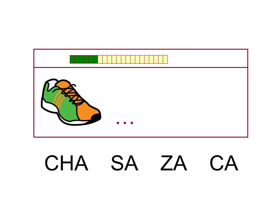 … CHA SA ZA CA