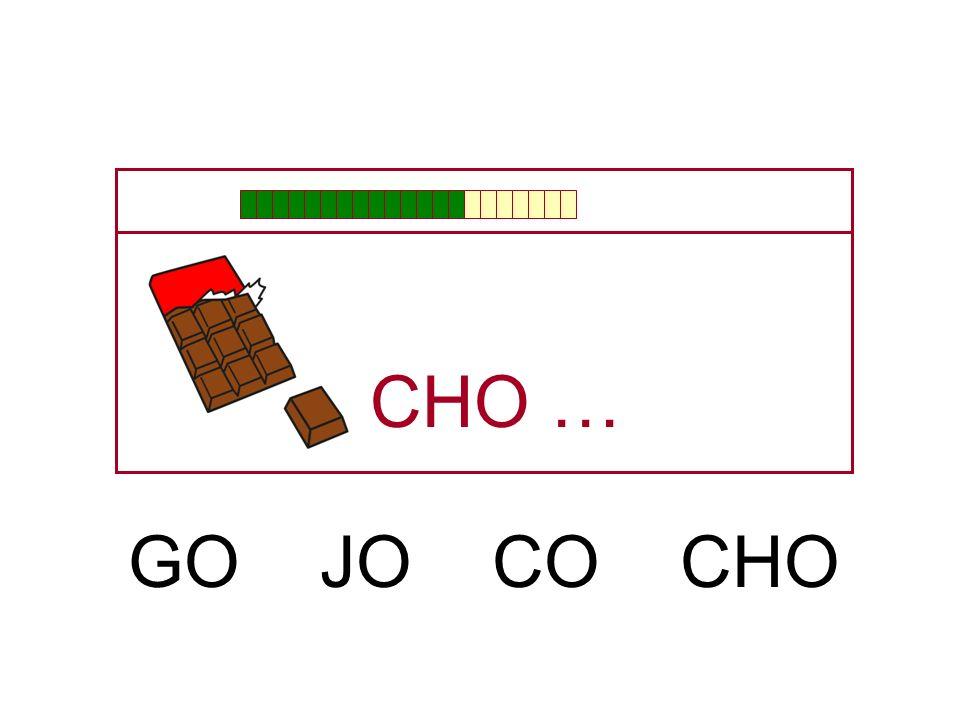 CHO … GO JO CO CHO