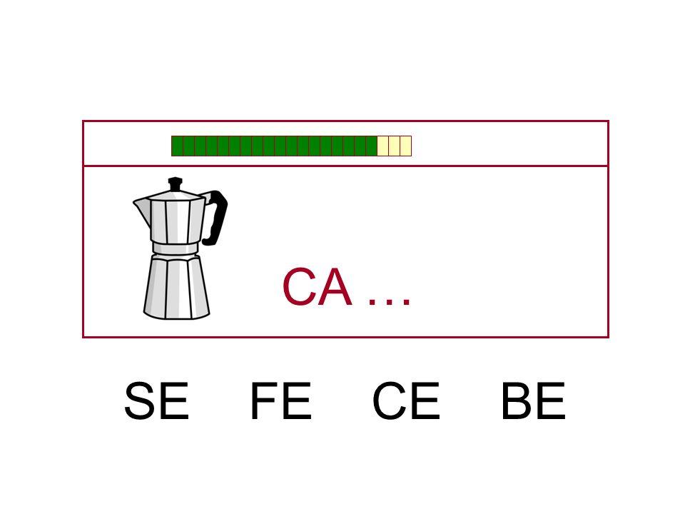 CA … SE FE CE BE