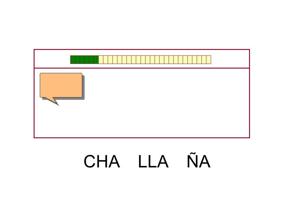 CHA LLA ÑA