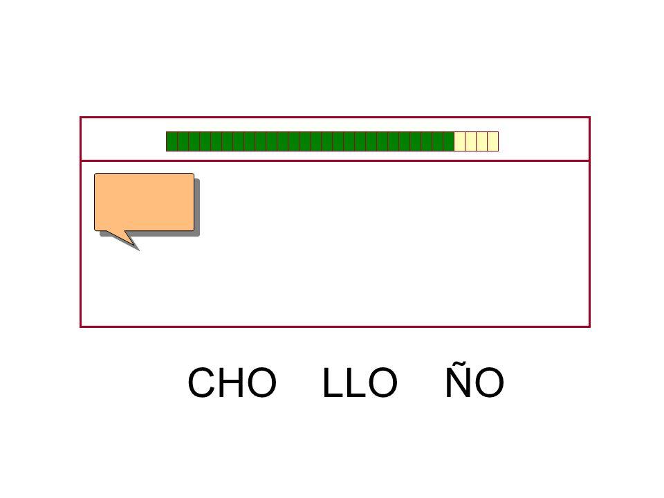CHO LLO ÑO