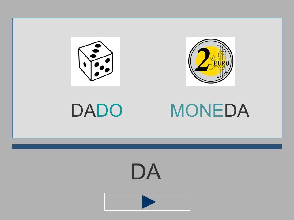 DADO MONEDA DA