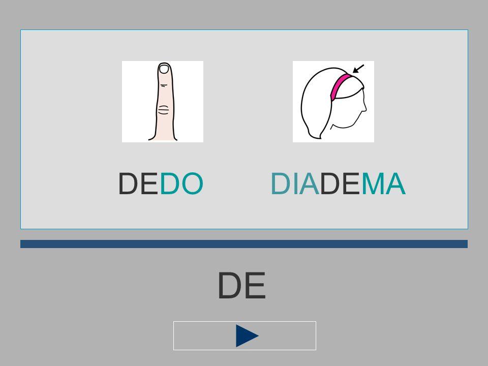 DEDO DIADEMA DE