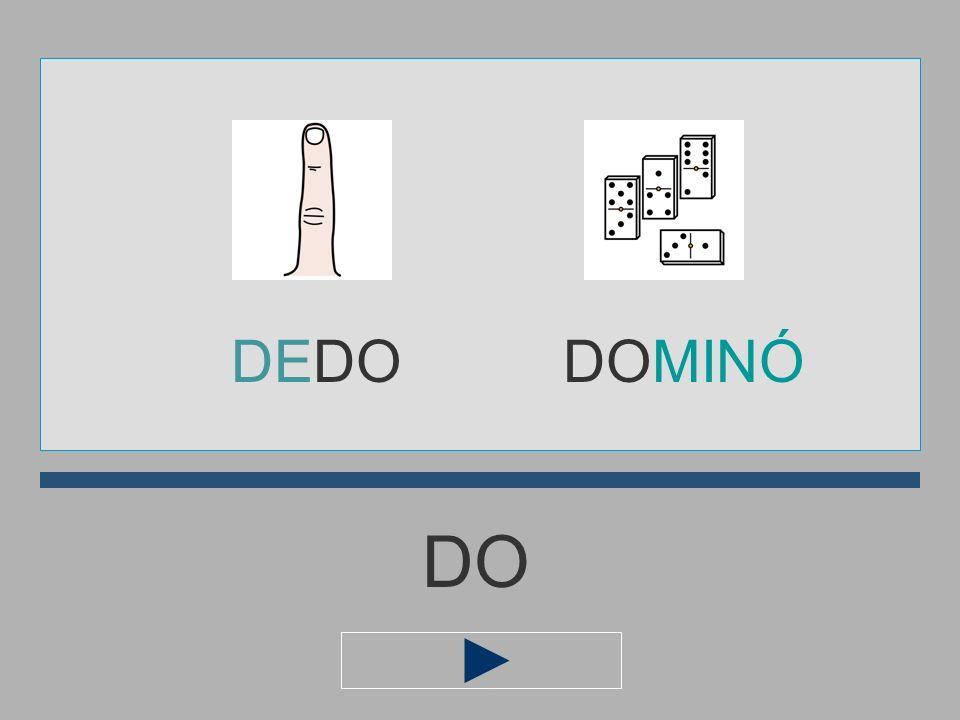 DEDO DOMINÓ DO