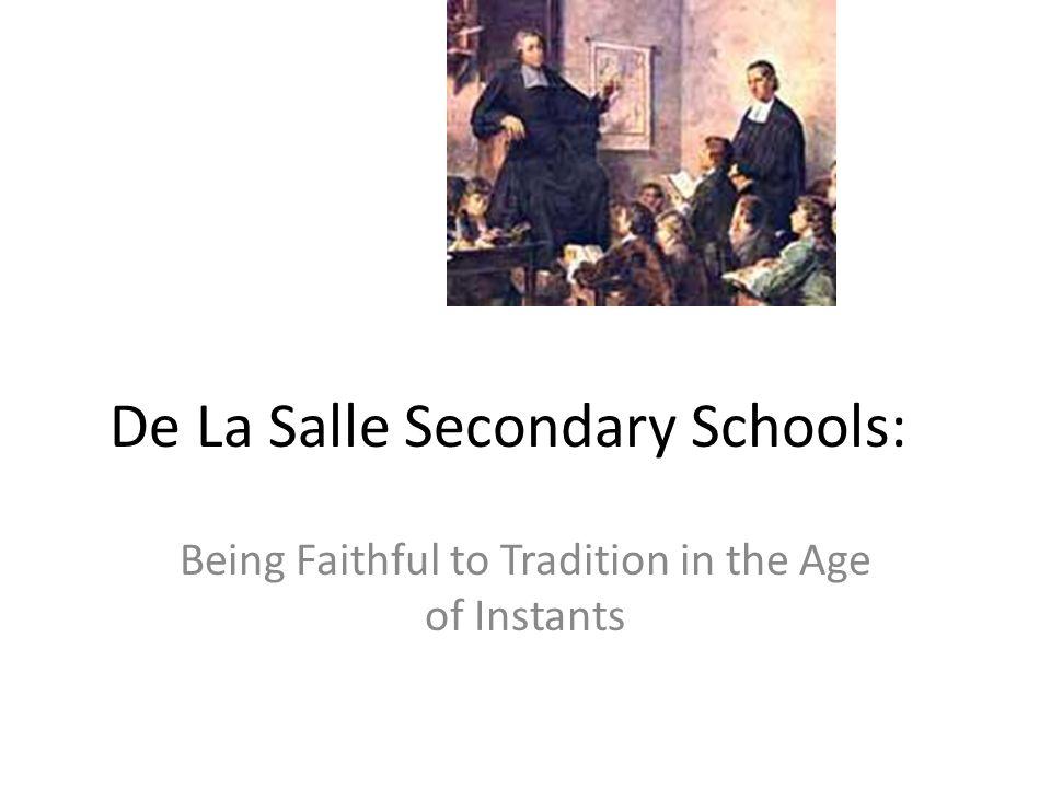 De La Salle Secondary Schools: